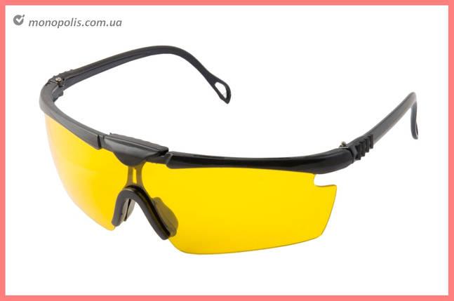 Очки защитные Mastertool - поликарбонатное стекло, фото 2
