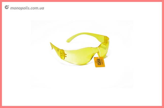Очки защитные Сила - симплекс желтые, фото 2