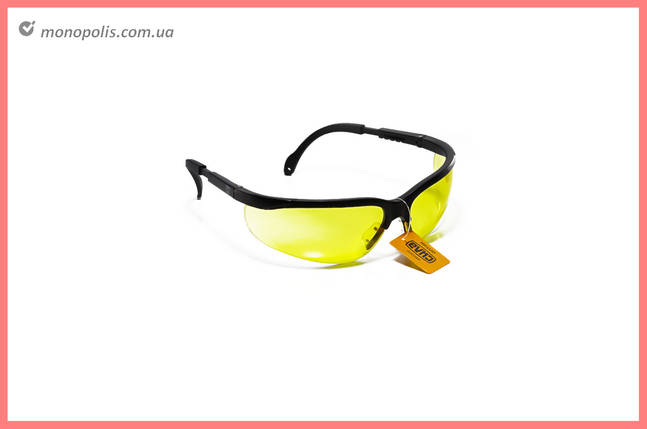 Очки защитные Сила - оптик желтые, фото 2