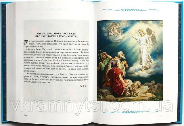 Дитяча Біблія. Біблійні оповідання в малюнках. Українською мовою. Крамниця дитячих книжок ― vkramnytsi.com.ua