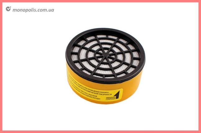 Фильтр для респиратора Miol - кислые газы (круглый), фото 2