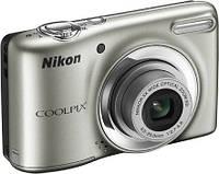 Фотокамера Nikon COOLPIX L25 (серебро, черный, белый), фото 1