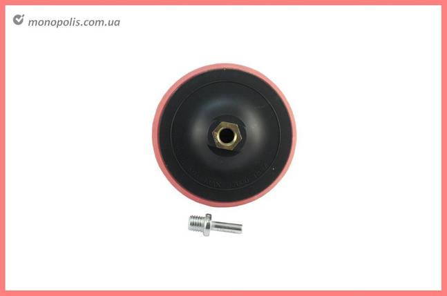 Диск для круга шлифовального Асеса - 125 х 20 мм, с переходником, фото 2