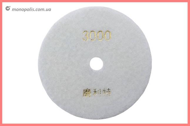 Диск алмазный шлифовальный Асеса - 125 мм x P3000, фото 2