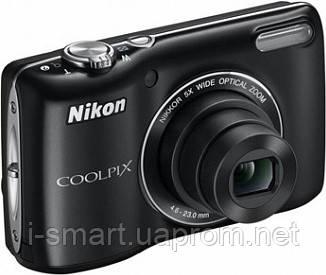 Фотокамера Nikon COOLPIX L26 (черный, красный)