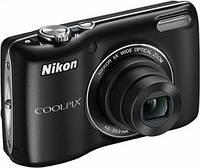 Фотокамера Nikon COOLPIX L26 (черный, красный), фото 1