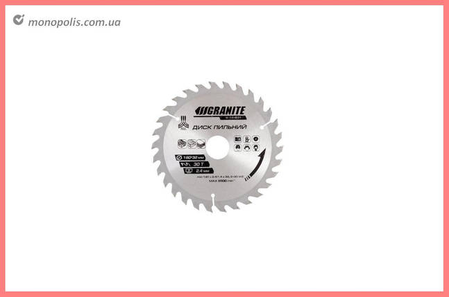 Диск пильный Granite - 300 x 40T x 32 мм (32-30+32-25,4), фото 2