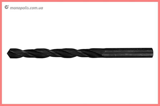 Сверло по металлу LT - 10,0 мм Р6М5-B черное, фото 2