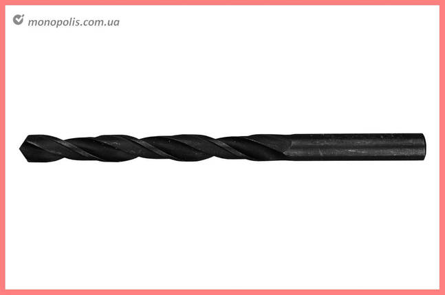 Сверло по металлу LT - 12,5 мм Р6М5-B черное, фото 2