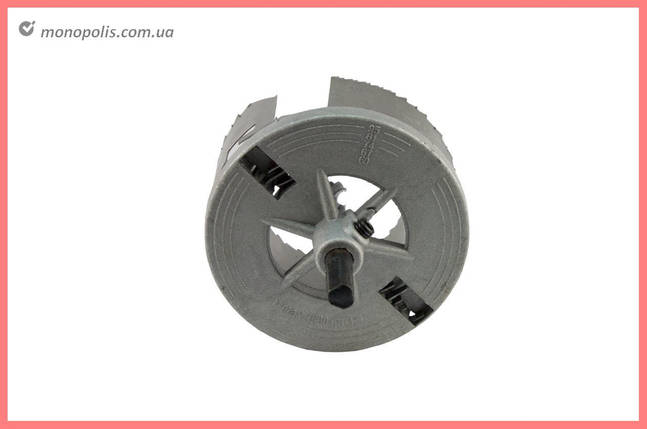 Набор корончатых сверл по гипсокартону Housetools - 5 шт. (60-90 x 30 мм), фото 2