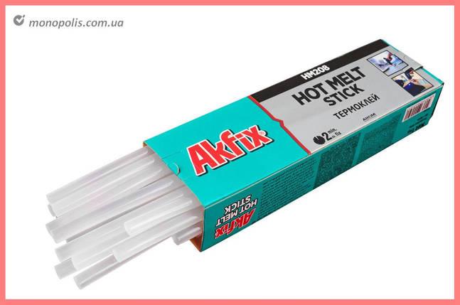 Клеевые стержни Akfix - 11,2 х 300 мм, прозрачные (1 кг), фото 2