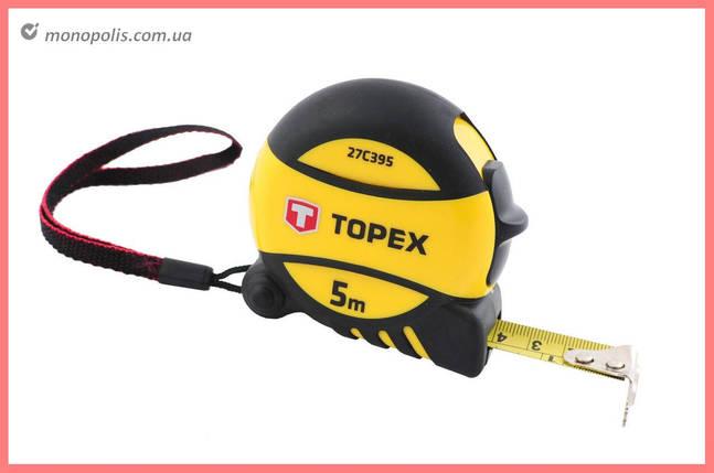 Рулетка Topex - 3 м х 16 мм, Prof, фото 2