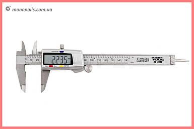 Штангенциркуль Mastertool - 150 мм электронный, цена деления 0,02 мм, металлический