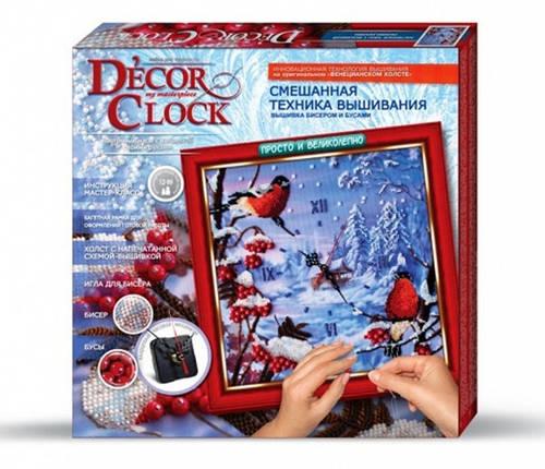 """Набір для творчості """"Decor Clock"""" """"Снигури"""" 4298-01-03DT, фото 2"""
