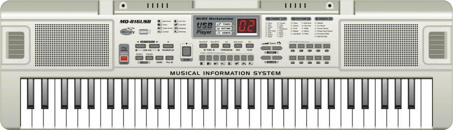 Орган MQ816USB 61 клавіша, фото 2