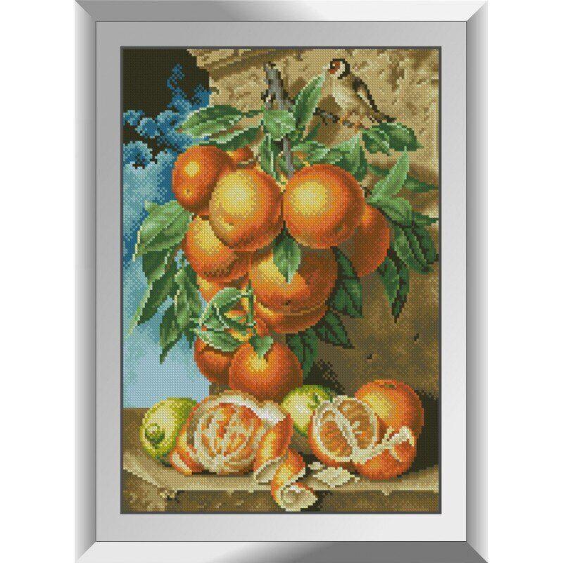 31362 Ветка апельсинов Набор алмазной живописи