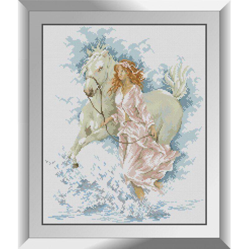 31382 Прогулка с лошадью Набор алмазной живописи