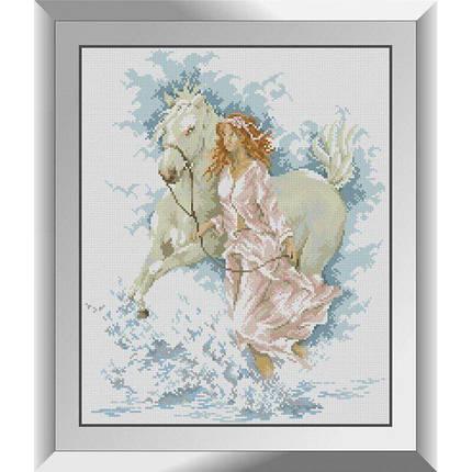 31382 Прогулка с лошадью Набор алмазной живописи, фото 2