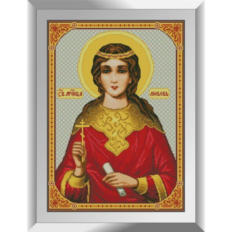 31390 Св. Мученица Любовь. Благость Набор алмазной живописи