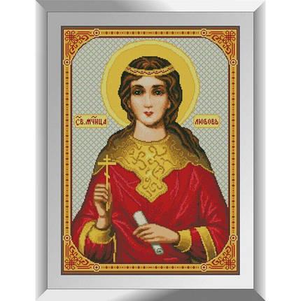 31390 Св. Мученица Любовь. Благость Набор алмазной живописи, фото 2