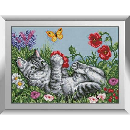 31402 Игривый котик Набор алмазной живописи, фото 2