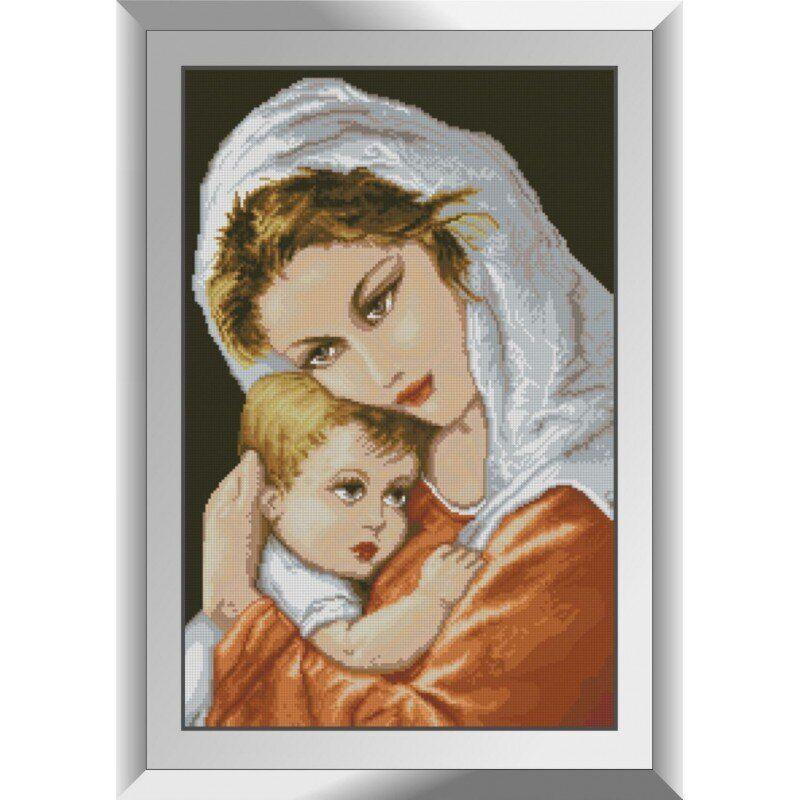 31403 Мамина ласка Набор алмазной живописи