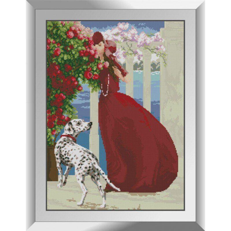 31455 Аромат роз Набор алмазной живописи