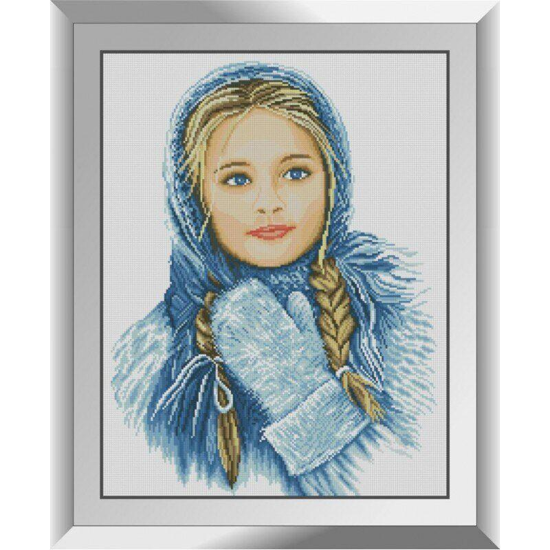 31456 Зимняя красавица Набор алмазной живописи