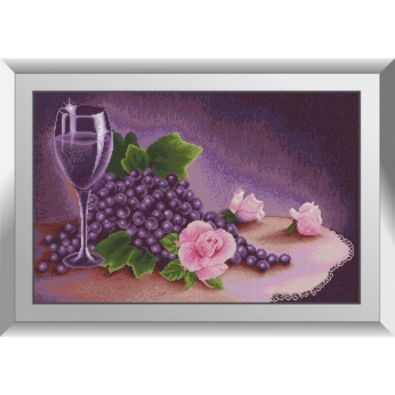 31473 Лиловый натюрморт Набор алмазной живописи