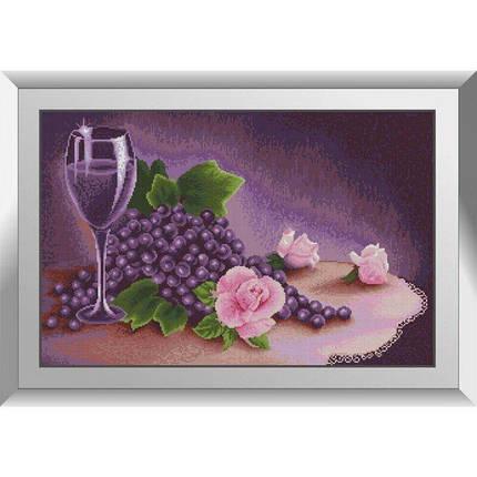 31473 Лиловый натюрморт Набор алмазной живописи, фото 2