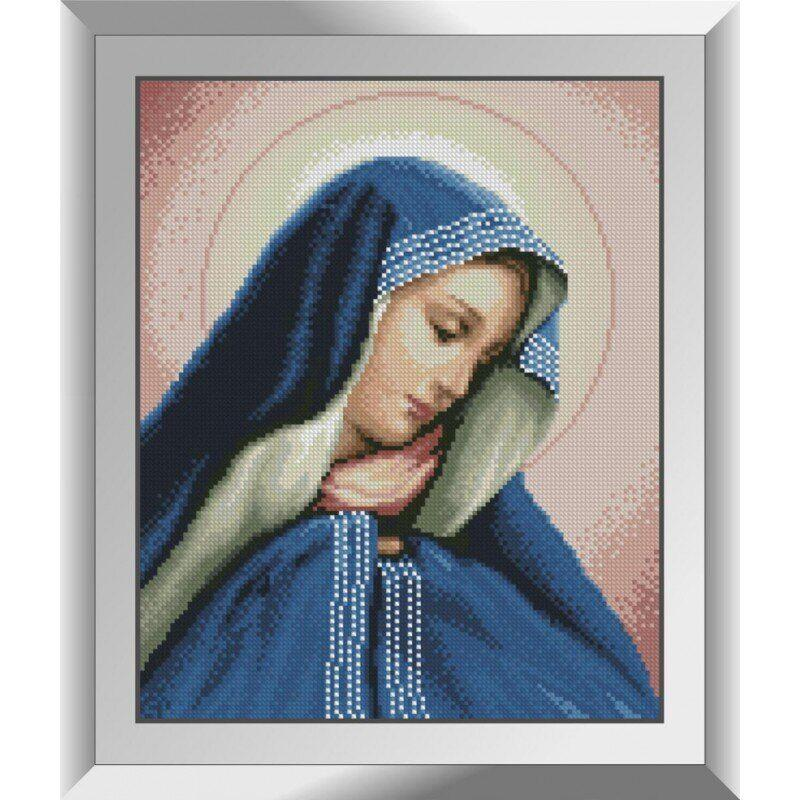 31476 Мадонна в синем Набор алмазной живописи (Z2905)
