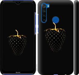 """Чехол на Redmi Note 8T Черная клубника """"3585c-1818-328"""""""