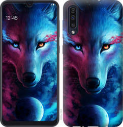 """Чехол на Galaxy A30s A307F Арт-волк """"3999c-1804-328"""""""
