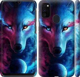 "Чехол на Galaxy M30s 2019 Арт-волк ""3999c-1774-328"""