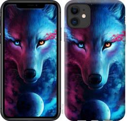 "Чехол на iPhone 11 Арт-волк ""3999c-1722-328"""