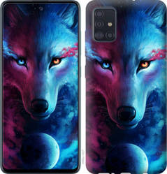 """Чехол на Galaxy A51 2020 A515F Арт-волк """"3999c-1827-328"""""""