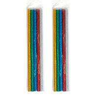 Клей декоративний, стрижні кольорові для клейового пістолета 7мм, 10шт 65г 2004-04665