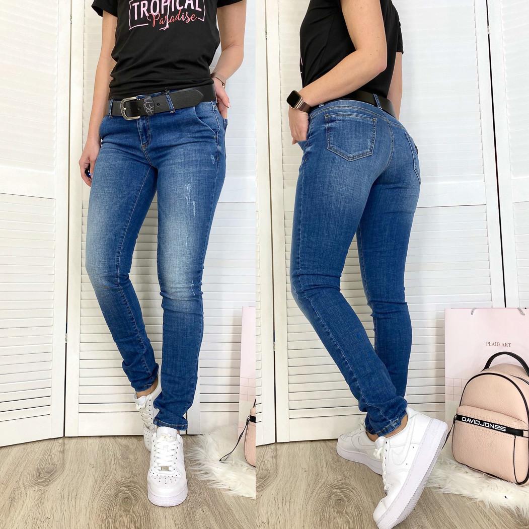 9323-В-570 Colibri (28-33, полубатал 6 ед.) джинсы женские весенние стрейчевые