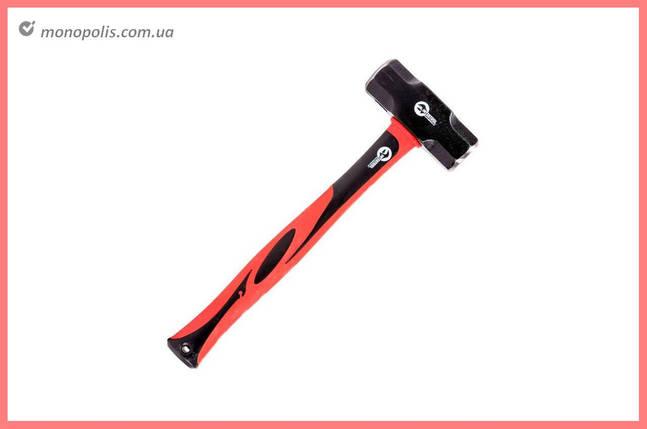 Кувалда Intertool - 3000 г, длинная ручка стекловолокно, фото 2