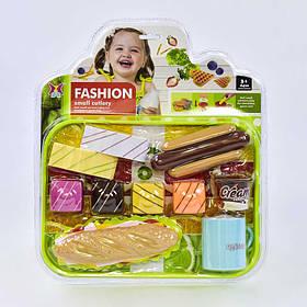 Игровой набор Fashion с пластмассовыми продуктами Фаст фуд SKL11-185145