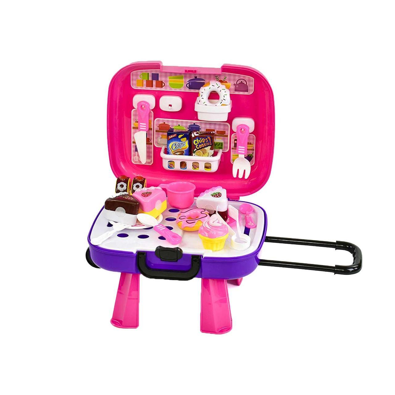 Игровой набор Сладости на липучках с чемоданом SKL11-182855