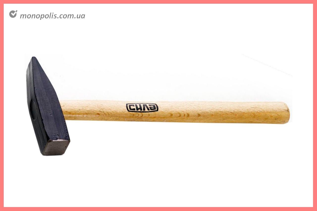 Молоток Сила - 600 г, ручка дерево