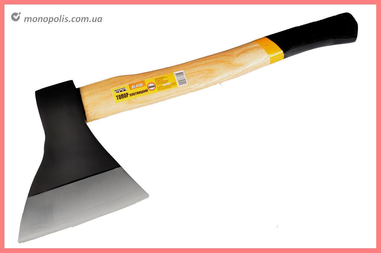 Топор Mastertool - 1000 г, ручка деревянная