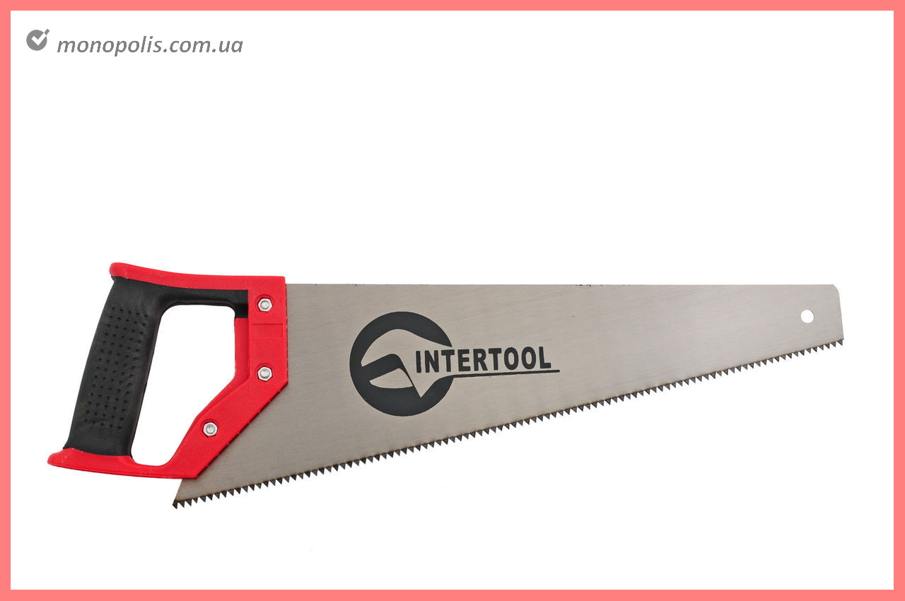 """Ножовка по дереву Intertool - 450 мм, 7T х 1"""""""