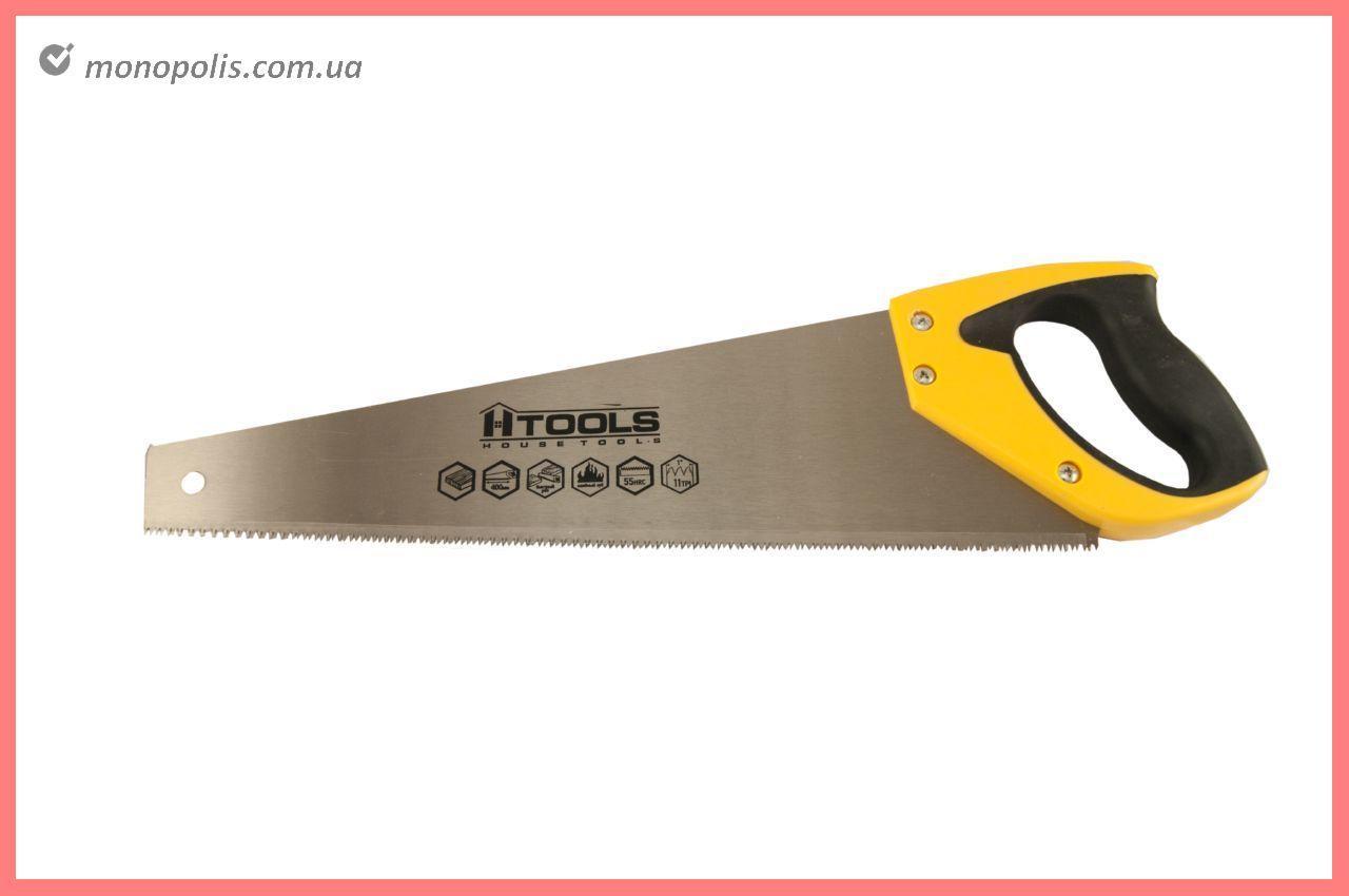 """Ножовка по дереву Housetools - 450 мм x 11T x 1"""" x 3D"""