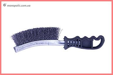 Щетка ручная Vita - 250 мм гребешок черный