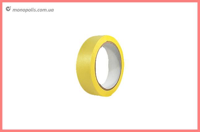 Лента малярная Housetools - 38 мм x 20 м, желтая, фото 2