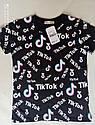 Стильная футболка для девочек Tik Tok Размеры 116 - 134 топ продаж, фото 4