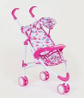 Коляска для кукол, розовая SKL11-183379