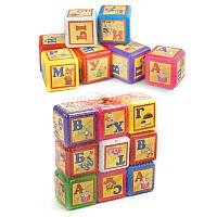 Кубики Bamsic Азбука 9 кубиков SKL11-180506